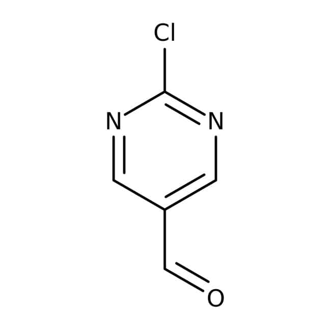 2-chloropyrimidine-5-carboxaldehyde, 97%, ACROS Organics™ 5g; Glass bottle 2-chloropyrimidine-5-carboxaldehyde, 97%, ACROS Organics™