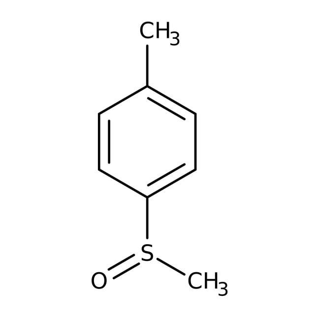 Methyl p-tolyl sulfoxide, 98%, Acros Organics 5g; Glass bottle Methyl p-tolyl sulfoxide, 98%, Acros Organics