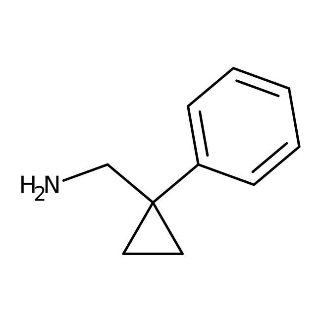 1-Phenylcyclopropanemethylamine, 97%, Maybridge™ Amber Glass Bottle; 1g prodotti trovati