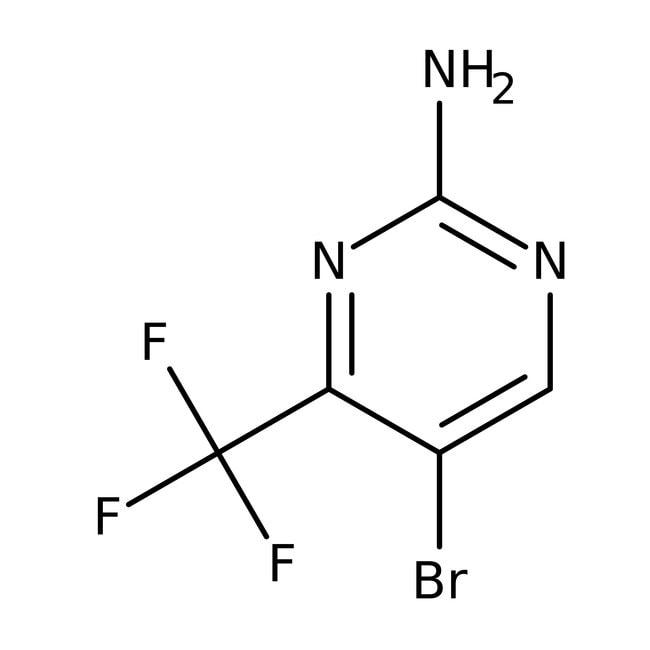Alfa Aesar™2-Amino-5-brom-4-(trifluormethyl)-pyrimidin, 95% 5g Alfa Aesar™2-Amino-5-brom-4-(trifluormethyl)-pyrimidin, 95%