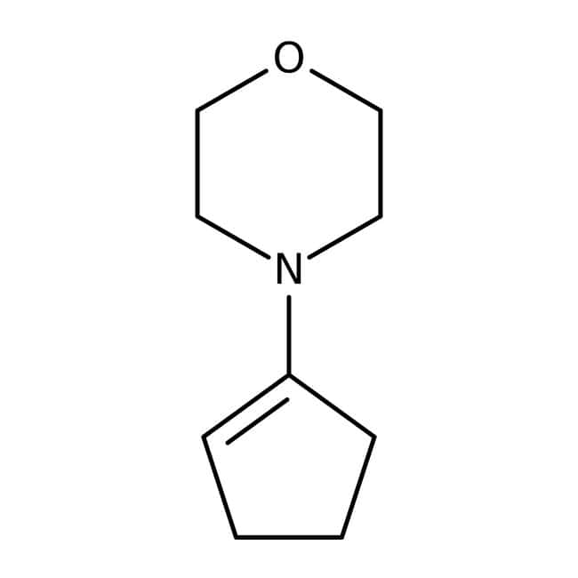 Alfa Aesar™4-(1-Cyclopenten-1-yl)morpholine, 96% 100g Alfa Aesar™4-(1-Cyclopenten-1-yl)morpholine, 96%