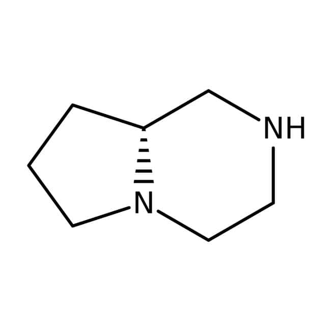 (S)-1,4-Diazabicyclo[4.3.0]nonane, 98%, ACROS Organics™ 1g (S)-1,4-Diazabicyclo[4.3.0]nonane, 98%, ACROS Organics™
