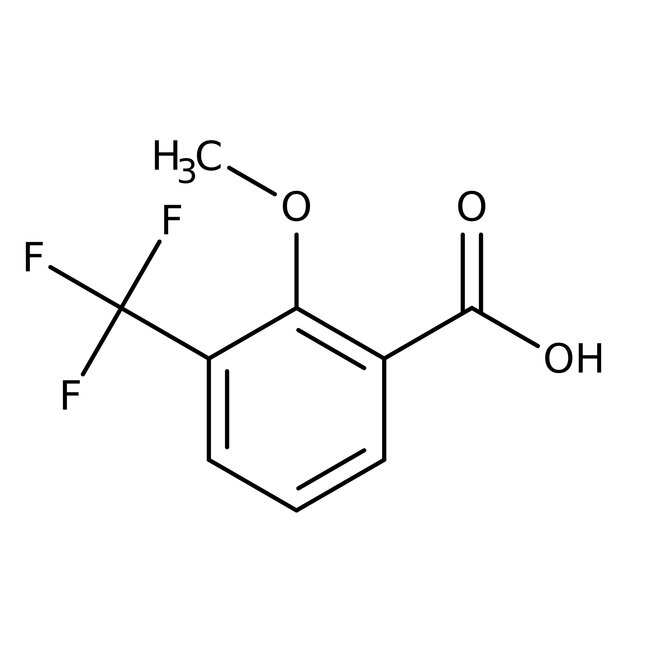 Alfa Aesar™ 2-Methoxy-3-(trifluoromethyl)benzoic acid, 97% 5g Alfa Aesar™ 2-Methoxy-3-(trifluoromethyl)benzoic acid, 97%