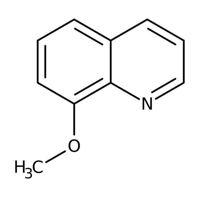 Alfa Aesar™8-Methoxyquinoline, 96% 250mg Alfa Aesar™8-Methoxyquinoline, 96%