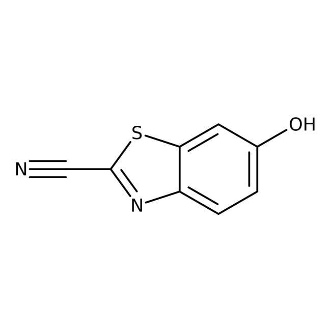 2-Cyano-6-hydroxybenzothiazole, 97%, Acros Organics™ 1g 2-Cyano-6-hydroxybenzothiazole, 97%, Acros Organics™