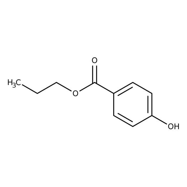 Propylparaben, NF, BP, EP, 98-102%, Spectrum
