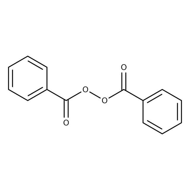 Dibenzoyl peroxide, 75%, remainder water, ACROS Organics™