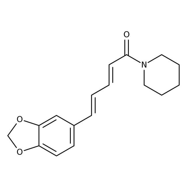 Piperine, 98%, ACROS Organics™: Organic Building Blocks Chemicals