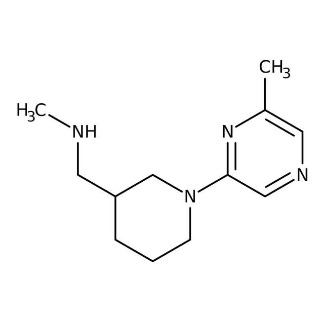 N-Methyl-[1-(6-methylpyrazin-2-yl)piperid-3-yl]methylamin, 97%, Maybridge Braunglasflasche, 1g N-Methyl-[1-(6-methylpyrazin-2-yl)piperid-3-yl]methylamin, 97%, Maybridge