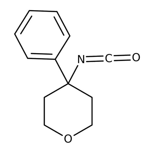 4-isocyanato-4-phenyltetrahydropyran, 97%, Maybridge™