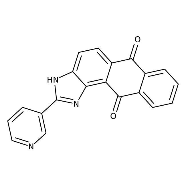 2-(3-Pyridyl)-1H-anthra[1,2-d]imidazole-6,11-dione, 97%, Alfa Aesar™