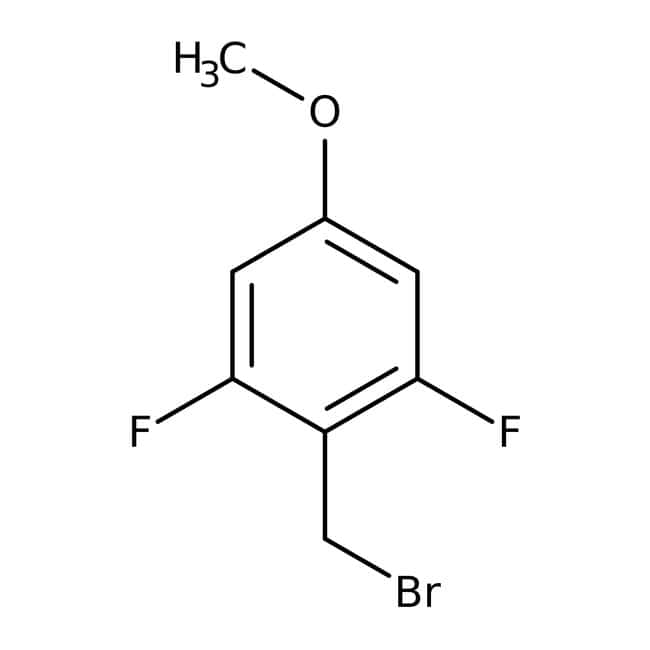 Alfa Aesar™2,6-Difluoro-4-methoxybenzyl bromide, 97%: Benzyl halides Benzene and substituted derivatives