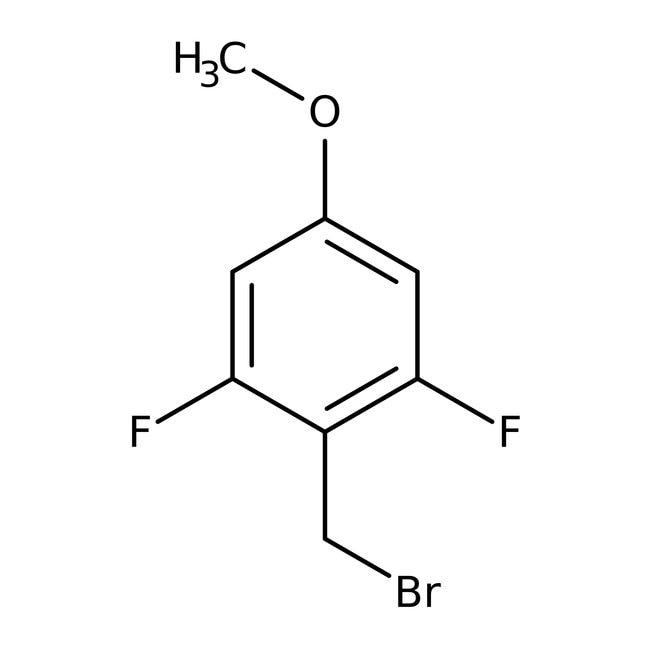 Alfa Aesar™2,6-Difluoro-4-methoxybenzyl bromide, 97% 1g Alfa Aesar™2,6-Difluoro-4-methoxybenzyl bromide, 97%