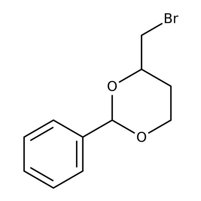 (2S,4S)-(+)-4-Bromomethyl-2-phenyl-1,3-dioxane, 95%, Acros Organics