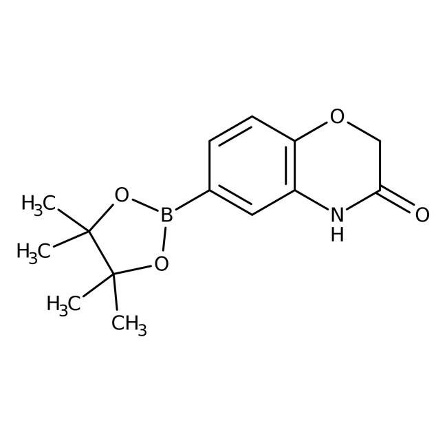 Alfa Aesar™3-Oxo-3,4-dihydro-2H-1,4-benzoxazine-6-boronic acid pinacol ester 1g Alfa Aesar™3-Oxo-3,4-dihydro-2H-1,4-benzoxazine-6-boronic acid pinacol ester