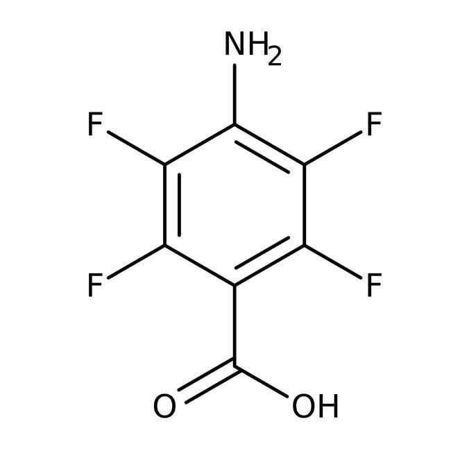 Alfa Aesar™4-Amino-2,3,5,6-tetrafluorbenzoesäure, 98% 5g Alfa Aesar™4-Amino-2,3,5,6-tetrafluorbenzoesäure, 98%