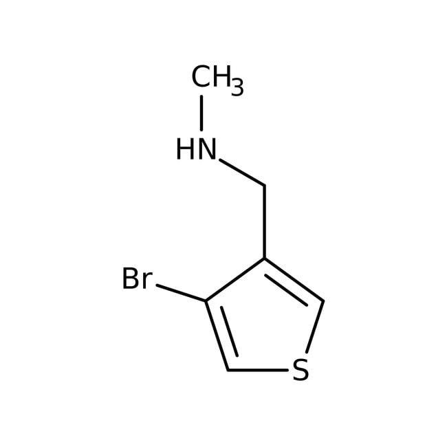 N-Methyl-[(4-bromothien-3-yl)methyl]amine hydrochloride, Tech., Maybridge™: Amines Organonitrogen compounds