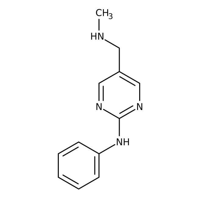 n-methyl-(2-anilinopyrimidin-5-yl)methylamine, 97%, Maybridge™