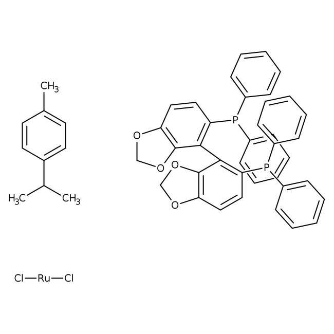 [RuCl(p-cymene)((R)-segphos(regR))]Cl, TCI America™