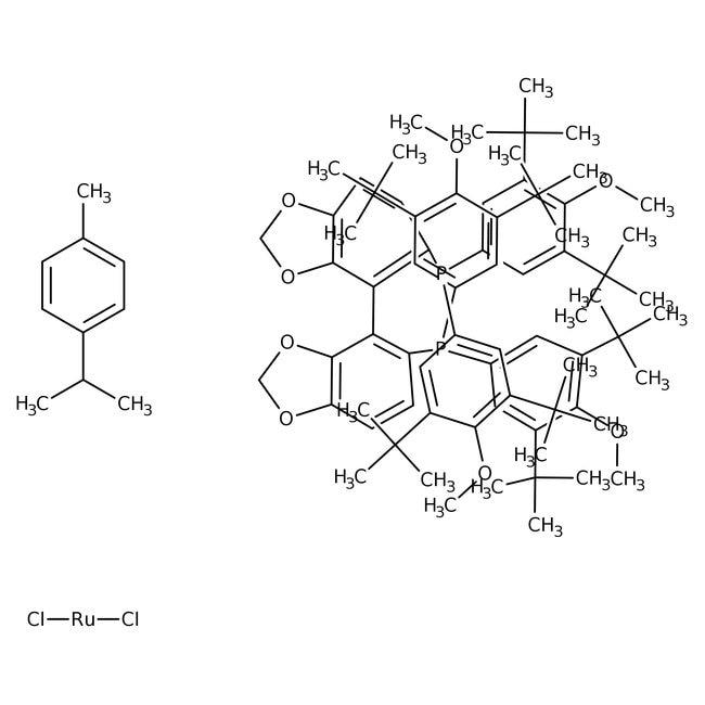 [RuCl(p-cymene)((R)-dtbm-segphos(regR))]Cl, TCI America™