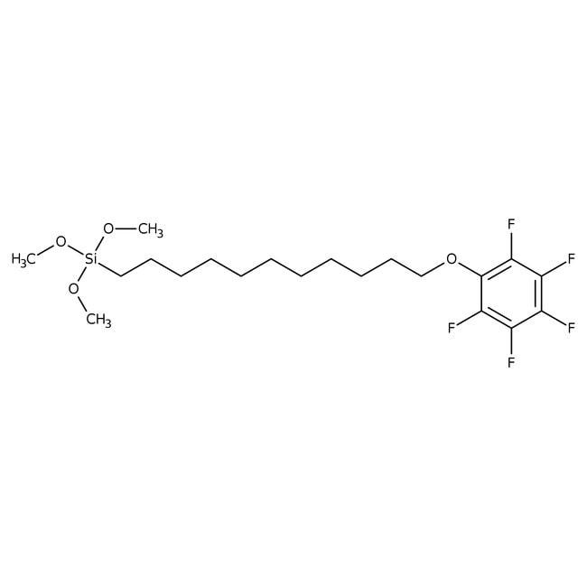 Alfa Aesar™11-(Pentafluorophenoxy)undecyltrimethoxysilane, 95%: Other Inorganic Compounds Chemicals