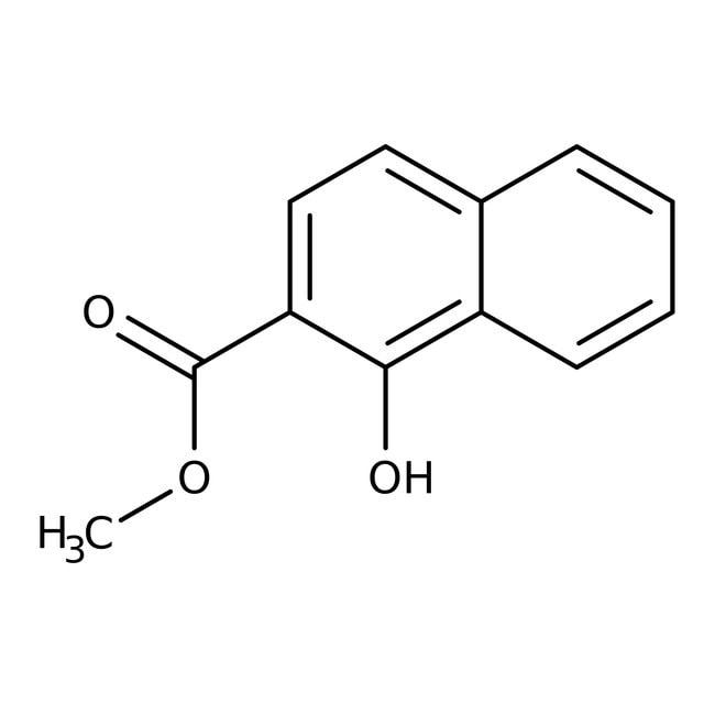 Methyl 1-hydroxy-2-naphthoate, ACROS Organics™ 5g, Glass bottle Methyl 1-hydroxy-2-naphthoate, ACROS Organics™