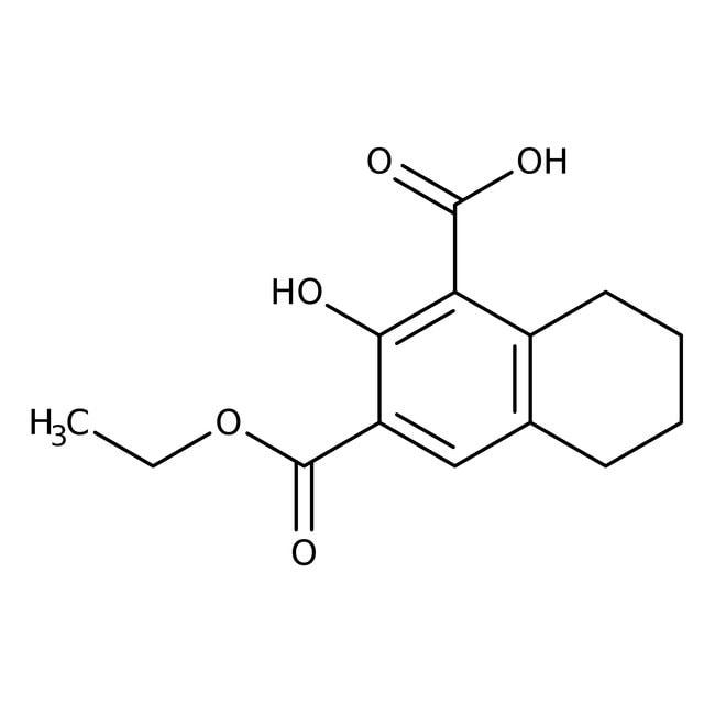 Alfa Aesar™3-(Ethoxycarbonyl)-2-hydroxy-5,6,7,8-tetrahydro-1-naphthoic acid, 96% 5g Alfa Aesar™3-(Ethoxycarbonyl)-2-hydroxy-5,6,7,8-tetrahydro-1-naphthoic acid, 96%
