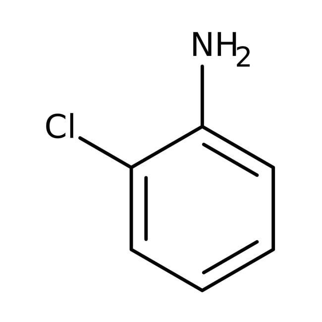 2-chloroaniline, 98+%, ACROS Organics™ 1L; Glass bottle 2-chloroaniline, 98+%, ACROS Organics™