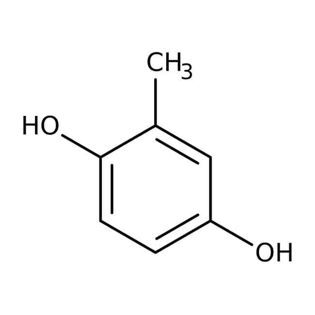 2-Methylhydroquinone, 99%, ACROS Organics™ 250g; Plastic bottle 2-Methylhydroquinone, 99%, ACROS Organics™