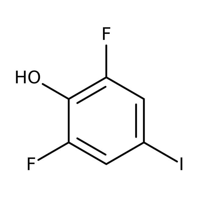 Alfa Aesar™2,6-difluoro-4-iodophénol, 99% 1g Alfa Aesar™2,6-difluoro-4-iodophénol, 99%