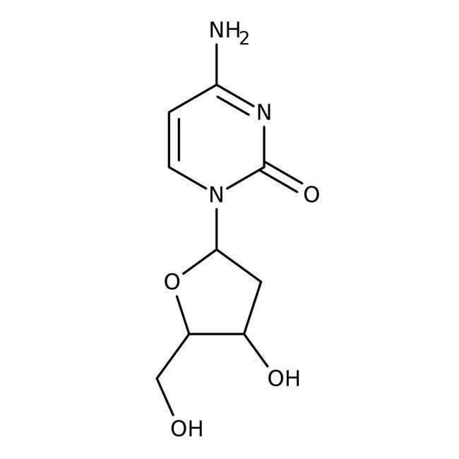 2'-Deoxycytidine, 99+%, ACROS Organics™ 1g 2'-Deoxycytidine, 99+%, ACROS Organics™