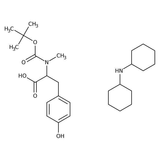 Alfa Aesar™N-Boc-N-methyl-L-tyrosine dicyclohexylammonium salt, 98% 1g Alfa Aesar™N-Boc-N-methyl-L-tyrosine dicyclohexylammonium salt, 98%