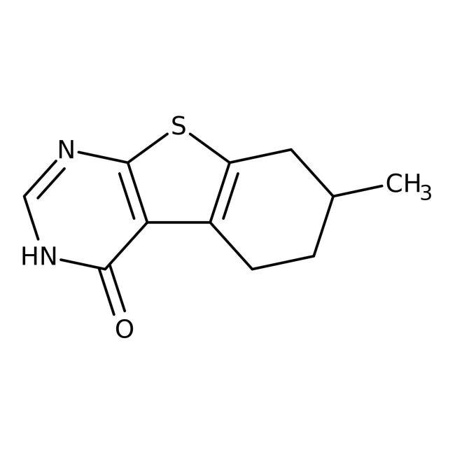 7-Methyl-5,6,7,8-tetrahydrobenzo[b]thieno-[2,3-d]-pyrimidin-4(3H)-on, 96%, Alfa Aesar™ 250mg 7-Methyl-5,6,7,8-tetrahydrobenzo[b]thieno-[2,3-d]-pyrimidin-4(3H)-on, 96%, Alfa Aesar™