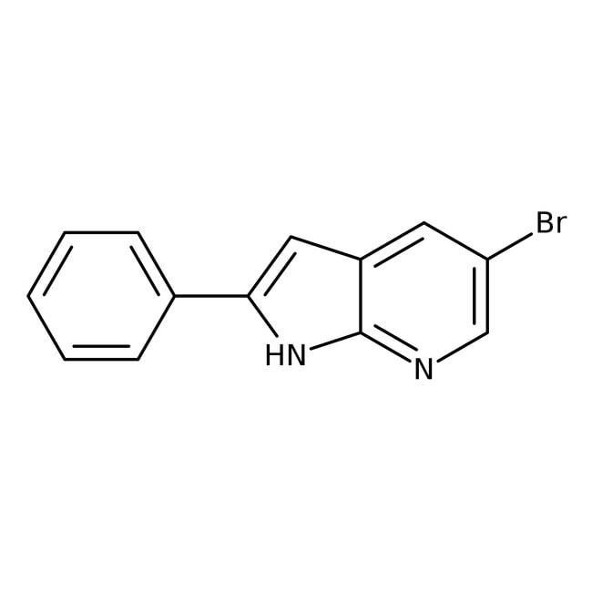 Alfa Aesar™5-Bromo-2-phenyl-7-azaindole, 97% 250mg Alfa Aesar™5-Bromo-2-phenyl-7-azaindole, 97%