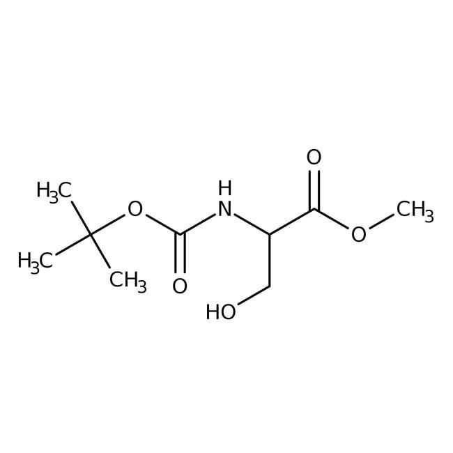 Alfa Aesar™N-Boc-D-serine methyl ester, 97% 5g Alfa Aesar™N-Boc-D-serine methyl ester, 97%