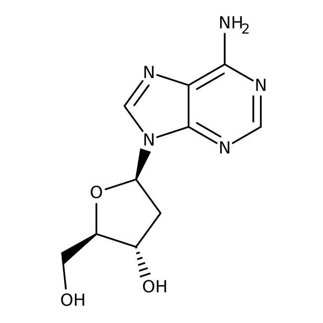 Thermo Scientific2'-Deoxyadenosine, 99% 50g:Biochemical Reagents