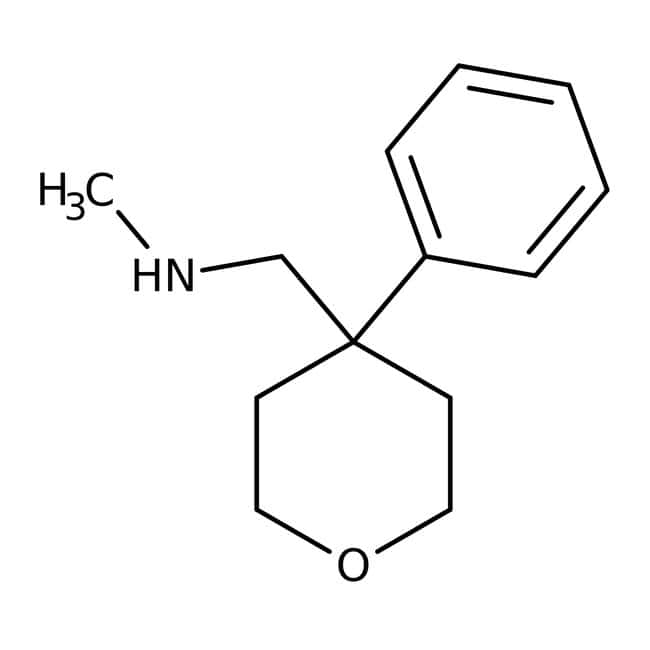 n-methyl-(4-phenyltetrahydropyran-4-yl)methylamine, 97%, Maybridge™: Amines Organonitrogen compounds