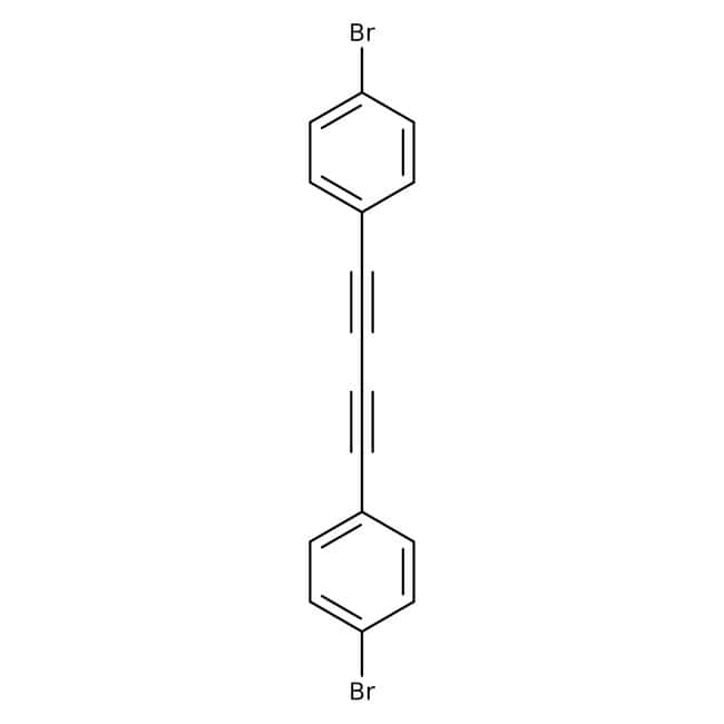 4',4''-Dibromodiphenylbutadiyne, 97%, ACROS Organics™: Halobenzenes Benzene and substituted derivatives