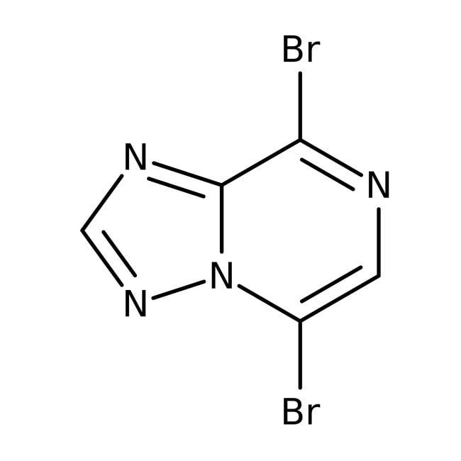 5,8-Dibromo-1,2,4-triazolo[1,5-a]pyrazine, 95%, Alfa Aesar™ 250mg 5,8-Dibromo-1,2,4-triazolo[1,5-a]pyrazine, 95%, Alfa Aesar™