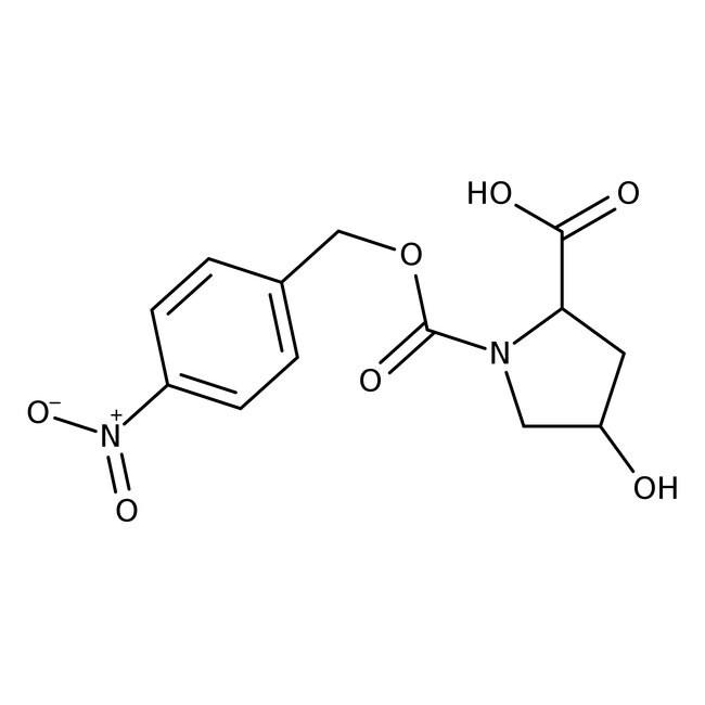 Alfa Aesar™trans-4-Hydroxy-1-(4-nitrobenzyloxycarbonyl)-L-proline, 97%
