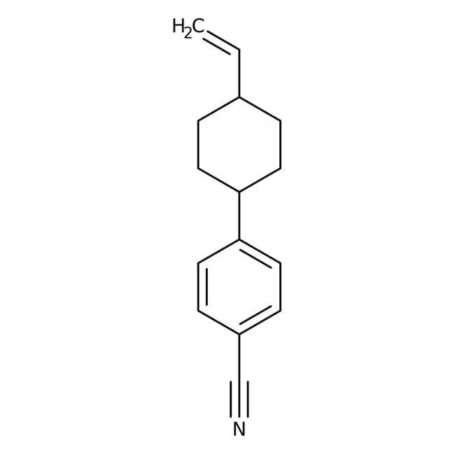 Alfa Aesar™trans-4-(4-Vinylcyclohexyl)benzonitrile, 97%