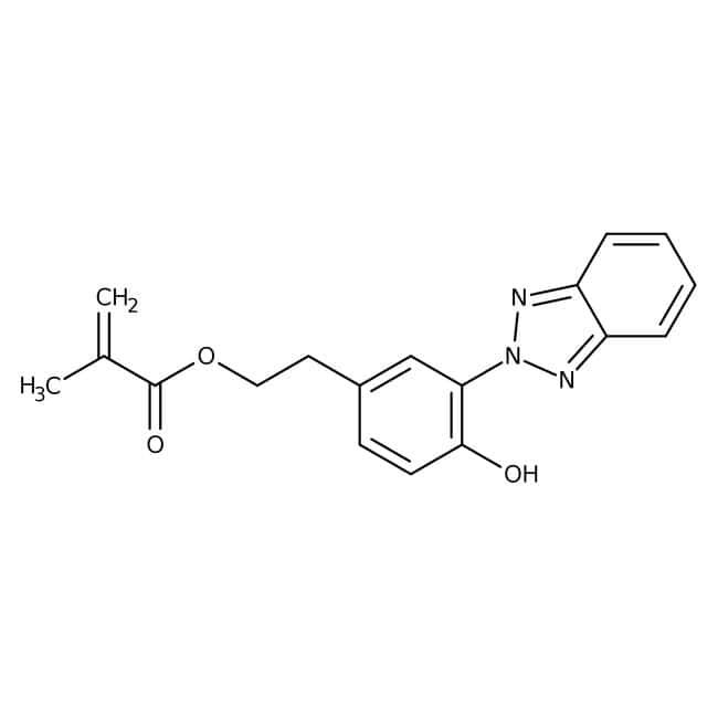 2-[2-Hydroxy-5-[2-(methacryloyloxy)ethyl]phenyl]-2H-benzotriazole 98.0+%, TCI America™