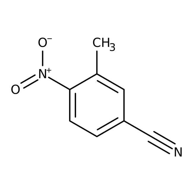 Alfa Aesar  3-Methyl-4-nitrobenzonitrile, 97%