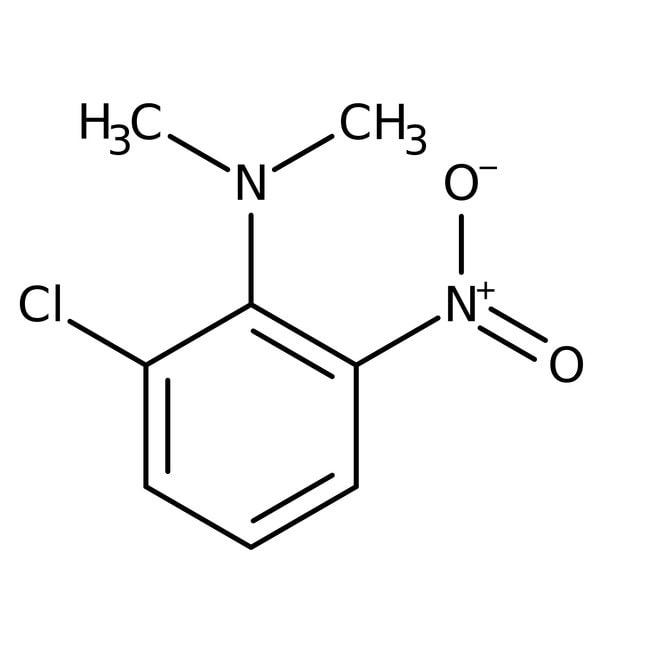 Alfa Aesar™2-Chloro-N,N-dimethyl-6-nitroaniline, 96% 1g Alfa Aesar™2-Chloro-N,N-dimethyl-6-nitroaniline, 96%