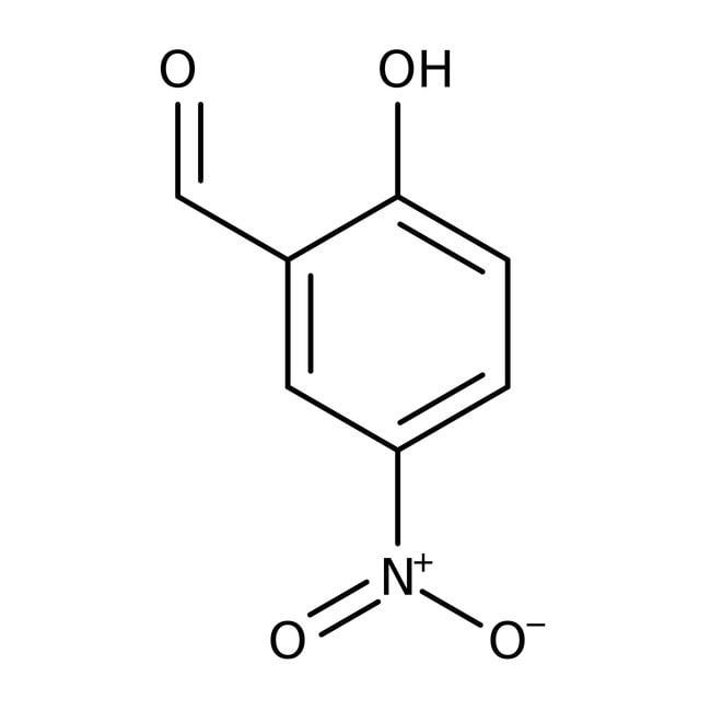Alfa Aesar™2-Hidroxi-5-nitrobenzaldehído, 98% 100g Alfa Aesar™2-Hidroxi-5-nitrobenzaldehído, 98%