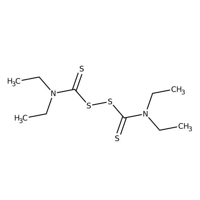 Tetraethylthiuram disulfide, 97%, ACROS Organics™