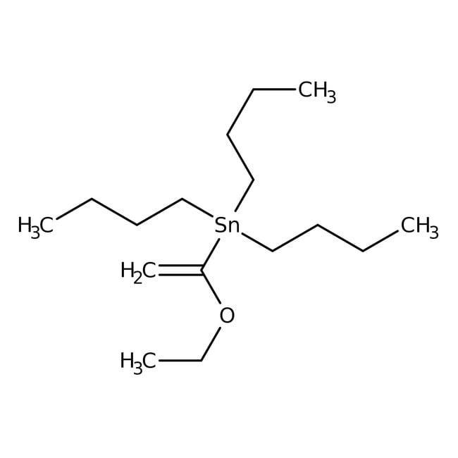 Alfa Aesar™Tri-n-butyle(1-éthoxyvinyl)étain 1g Alfa Aesar™Tri-n-butyle(1-éthoxyvinyl)étain