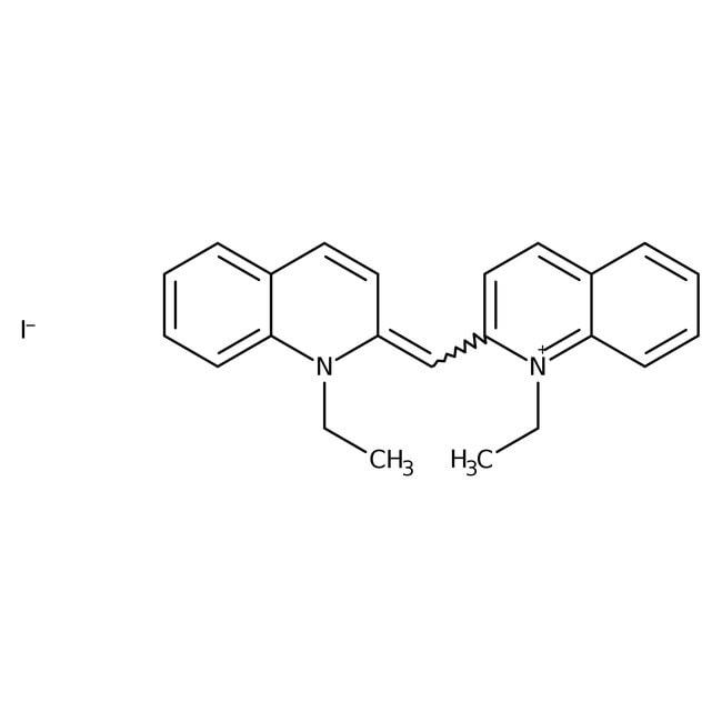 Alfa Aesar™1,1'-Diethyl-2,2'-cyanine iodide, 97%