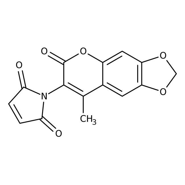 6,7-Methylenedioxy-4-methyl-3-maleimidocoumarin 98.0 %, TCI America