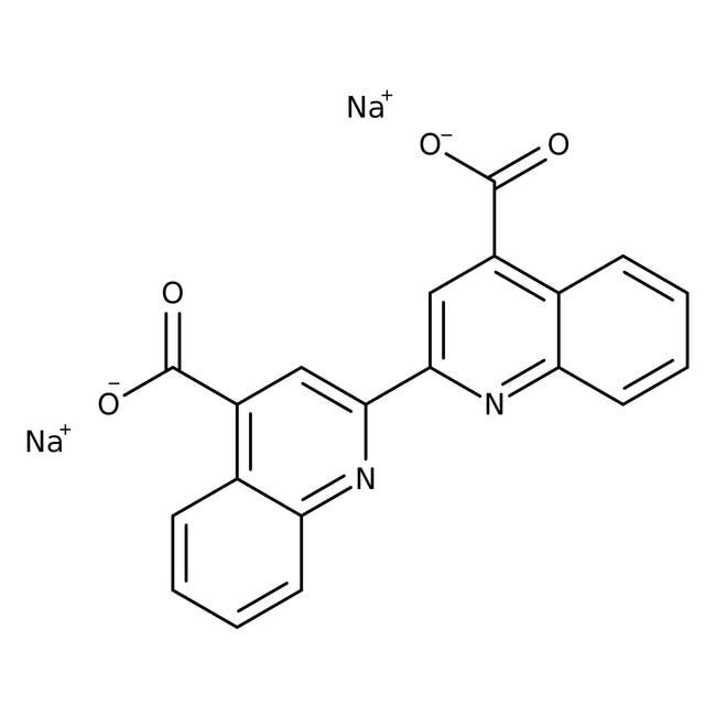 Alfa Aesar™Bicinchoninic acid disodium salt 10g Alfa Aesar™Bicinchoninic acid disodium salt